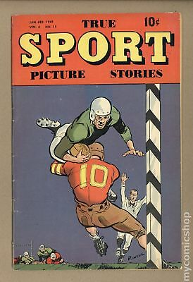 True Sport Picture Stories Vol. 4 #11 1948 VG 4.0