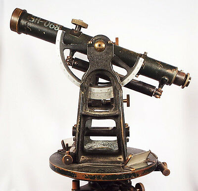 Going going gone...Transit, Theodolite, Antique, 1900's, superb condition.