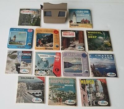 View Master And 40 Reels Vintage Antique Sawyer's