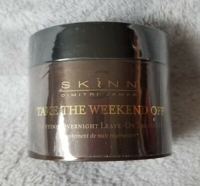 Skinn cosmetics Take the weekend off overnight treatment 4.0oz
