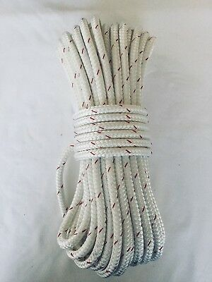 7/16 x 72 Sta-Set fleck New England Double Braid Polyester  Made in the USA