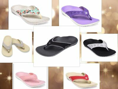 ae26ced08 womens spenco arch support sandals flip flop thong shoes brandnew