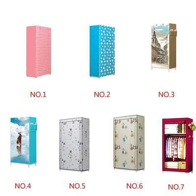 Multi Pattern Large Portable Clothes Closet Wardrobe Storage Organizer