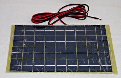 10W Car Battery Solar Charger Module Conditioner Full Length Leads Ico-Spc-10W.*