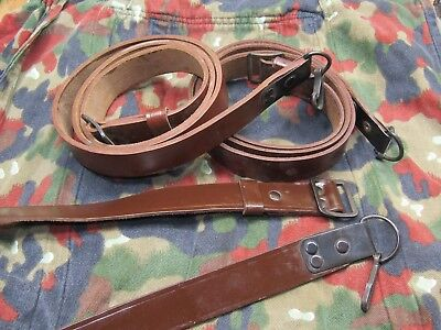Romanian Leather Sling for 7.62x39 5.45 SKS, and other rifles, EXC NEW COND