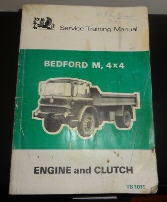 bedford trucks tk workshop service manual ts1087 brakes 12 99 rh picclick co uk Bedford Van Bedford Van