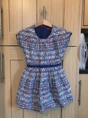 Ted Baker Girls Summer Dress Age 4-5 Years Vgc
