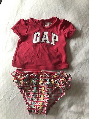 Baby Gap Swim Suit, Knickers and Top 18-24