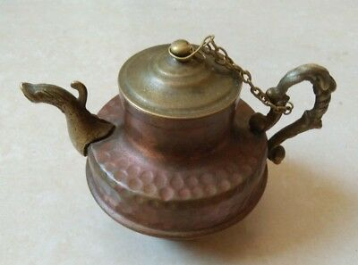 rare Ancient antique roman teapot bronze artifact authentic beautiful amazing