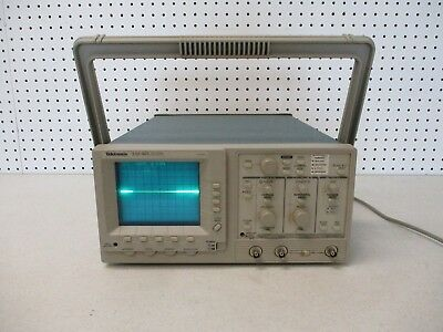 Tektronix Tas465 Dual Trace Oscilloscope 100 Mhz Works Great Great Condition!
