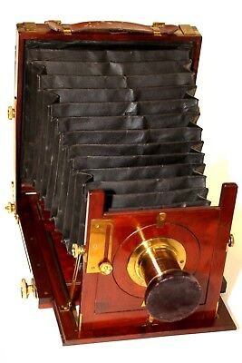"""English Wooden camera antique from """"MARION & CoS. Perfection Camera"""""""