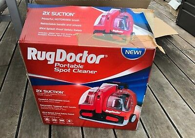 Rug Doctor Spot Cleaner - used twice. Excellent condition. Still in warranty