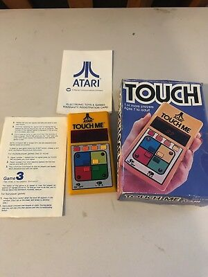 Atari Touch Me, used box Mint condition, 1978 Collectible