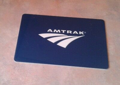 AMTRAK Gift Card, 2018,  Collectible, Mint