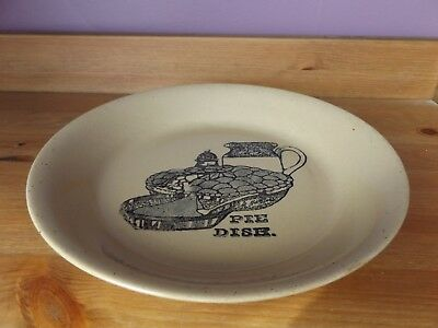 Pearsons of Chesterfield Stoneware Pie Dish 1960's