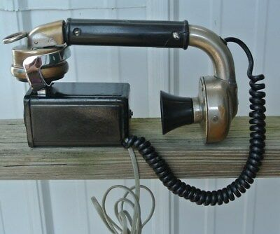 Western Electric Non Dialer Telephone Subset WE-1002 + Bell System G7 - Works