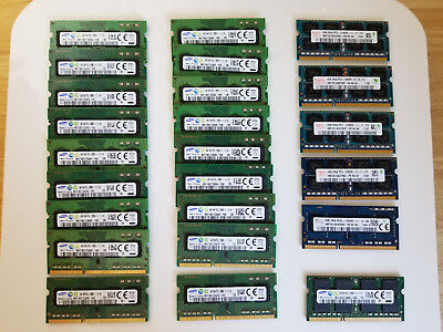ASSORTED 4GB PC3-12800S DDR3-1600MHz 204-Pin SoDimm Memory HMT351S6CFR8C-PB
