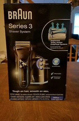 Braun Series 3 350CC-4 Men's Electric Shaver New in Opened Box Free Shipping!