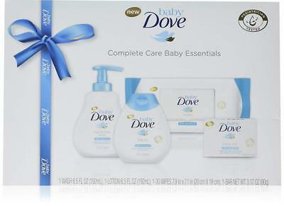 Baby Dove Complete Care Essentials, From baby wash to baby lotion Gift Set 4 pc