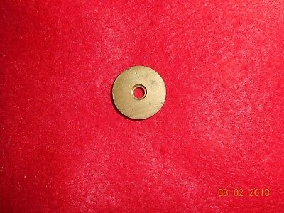 brass stock disk for Lee Enfield rifle