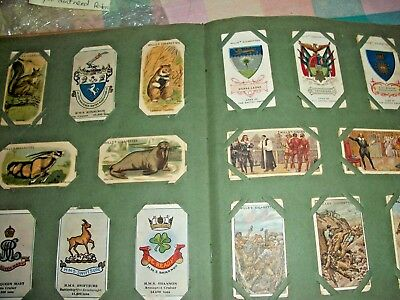 ALBUM of 100+  PART/FULL SETS  WILLS  100yrs OLD CIGARETTE CARDS dated 1916
