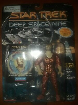 Star Trek Deep Space Nine Tosk Reptilian Alien Playmates 1995 action figure