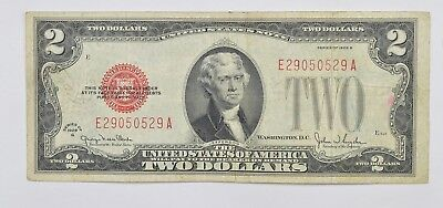 Snyder 1928-G $2.00 Red Seal Legal Tender United States Note *218