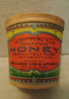 Vintage Advertising Container Box-Food-SWEEPSTAKE HONEY-Bees-APIARY-LINCOLN,NE