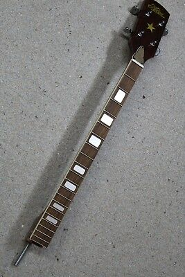 Beautiful Alex 4 String Banjo Neck, Made in Japan,  New Old Stock