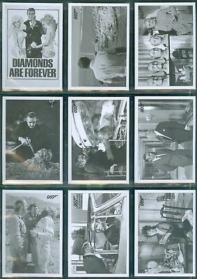 James Bond Archives 2016  48 card Diamonds are Forever Throwback Set