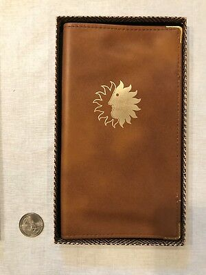 National Airlines Sun King travel wallet in original box
