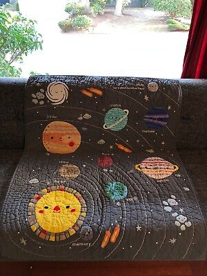 Land Of Nod Space Crib Quilt
