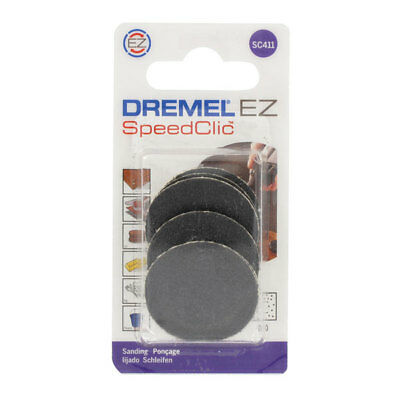 Dremel 2615S411JA SC411 EZ SpeedClic Sanding Disc - Pack Of 6