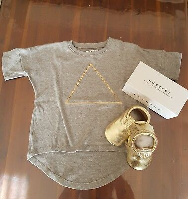 Huxbaby shoes 18mth+ and top bundle