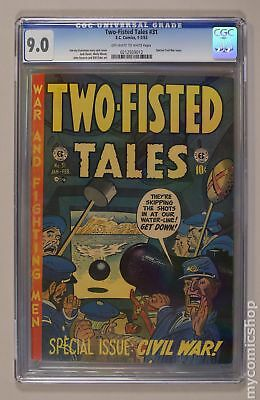 Two Fisted Tales (EC) #31 1953 CGC 9.0 0212939012