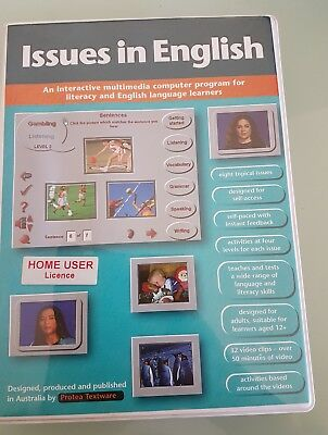 Issues in English an interactive multimedia for literacy for language learners