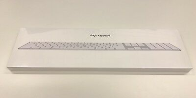 Magic Keyboard mit Ziffernblock – Deutsch – Silber - OVP in Folie