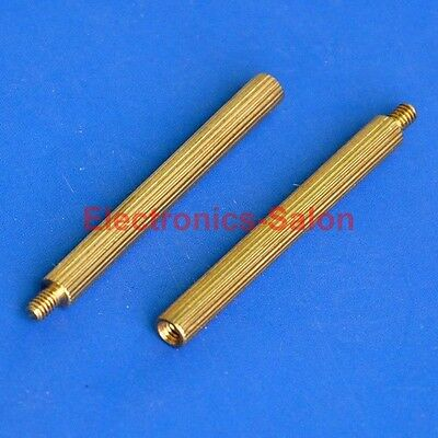 20pcs 30mm Threaded M2 Brass Male-Female Standoff, Spacer.