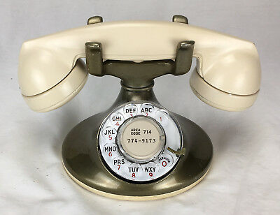 Interesting finish Western Electric D1 w/ Painted Handset, for Restoration   #p5