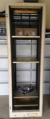 38RU Server Cabinet with Patch Panel and Dual Powers