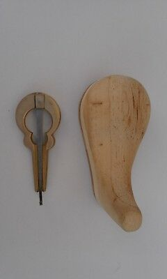 Jews Harp In Its Own Wood Case