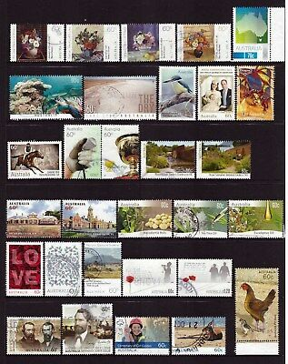 Australian used stamps 2011 to 2014