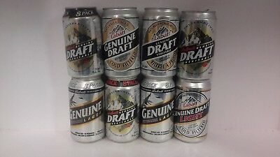 Labatt Genuine Draft & Lager Beer Cans from Canada