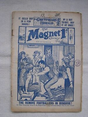 The Magnet Dec 4th 1916 - original longer issue (30 pages)