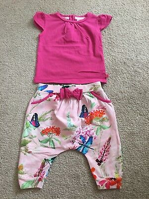 🎀Ted Baker baby girl outfit 3-6 months🎀