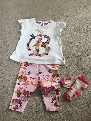 🎀Ted Baker baby girl outfit 0-3 months🎀