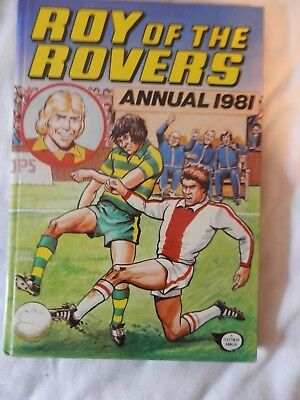 ROY OF THE ROVERS annual (1981)