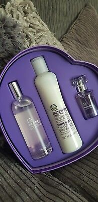 The body shop white musk classic gift set  parfum body lotion fragrance
