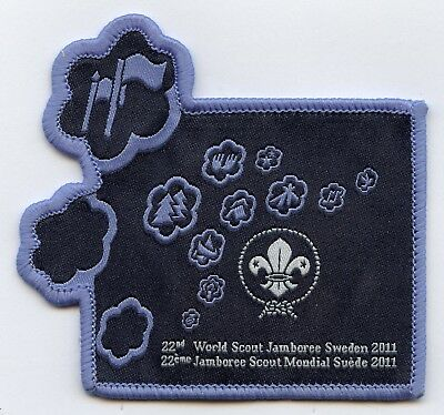 Sweden Patch Official 22th World Scout Jamboree 2011 Badge High Grade !!