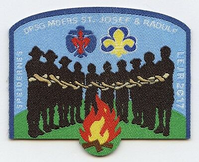 Denmark Danish Scout Jamboree LEJR 2017 Badge High Grade !!!